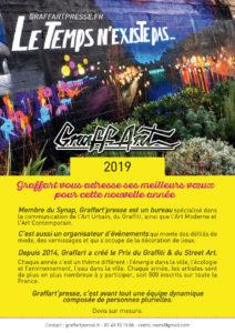 Bonne année Graffart 2019